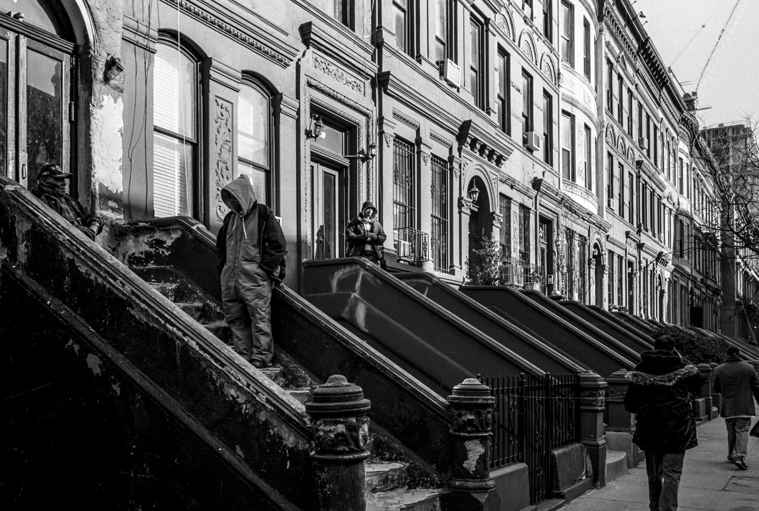 Brooklyn 2008 • Brooklyn escaliers