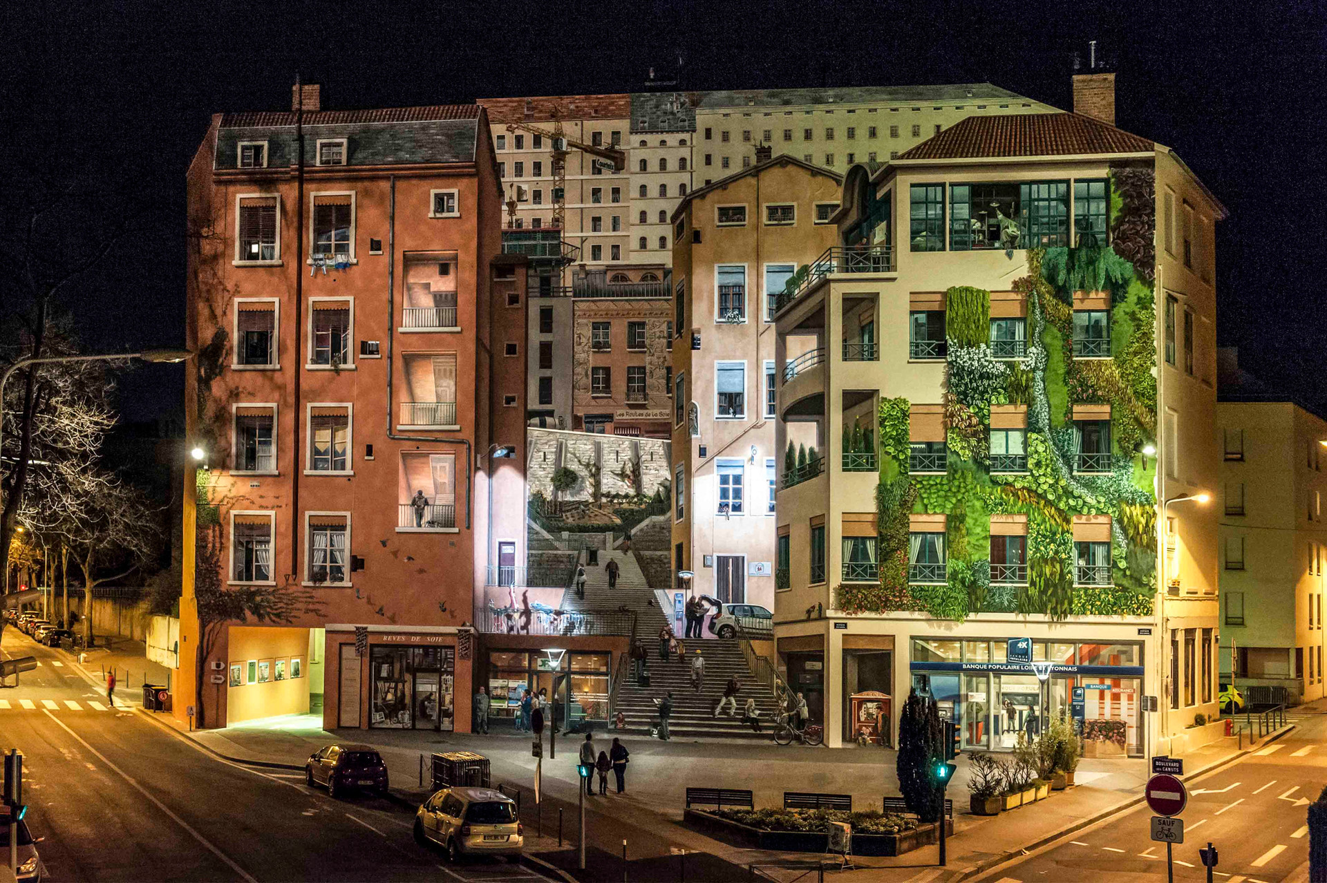 15 • Mur des Canuts - Lyon