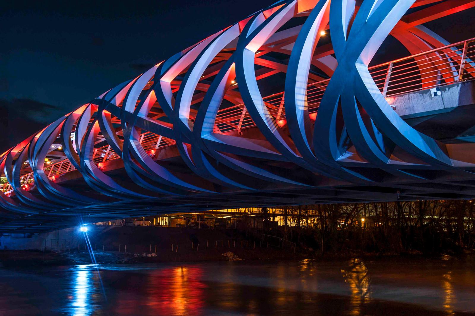 20 • Pont Hans Wilsdorf - Genève