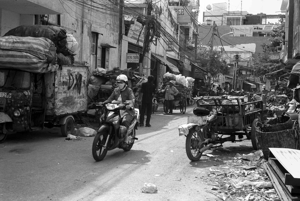 Saïgon 2008 • Motorcycle girl