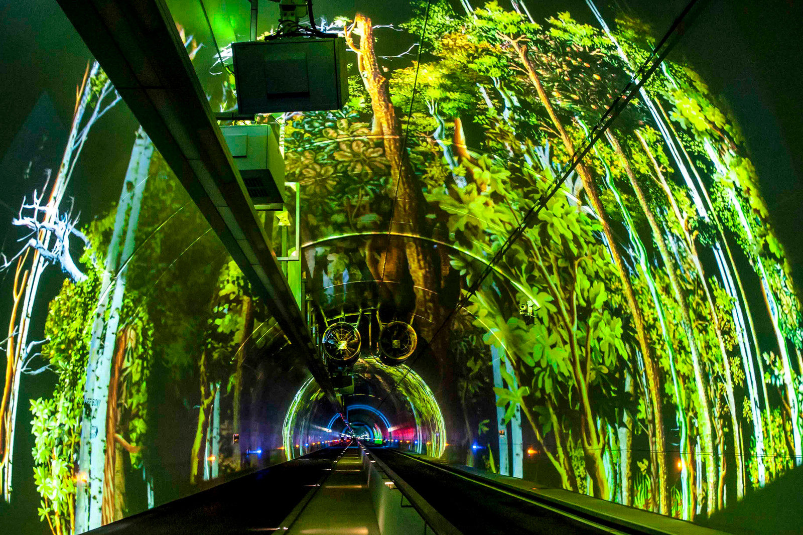 44 • Tunnel modes doux - Lyon