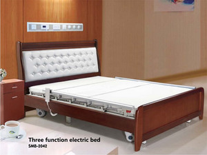 Hospital Home Care Electric Bed Wooden Finish 42.jpg
