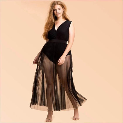 Beachwear Plus Size Long Dress