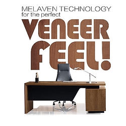Full collection with Veneer look and Melaven technology
