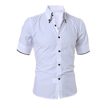 Half sleeve White Shirt