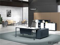 Ergonomic chairs and sleek office desks