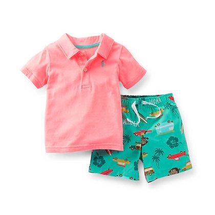 Boys T-Shirt and Shorts Combo