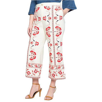 Floral Printed Trousers for Girls