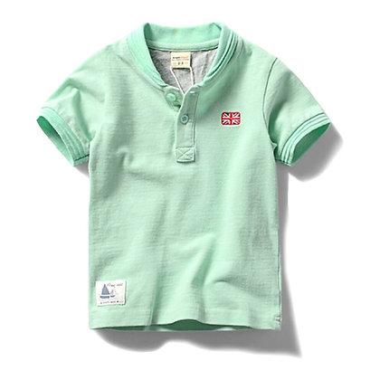 Boys Round Neck T-Shirt.