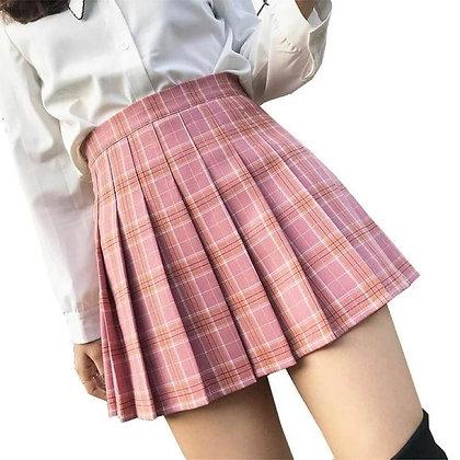 Short Pleated Skirt for Girls