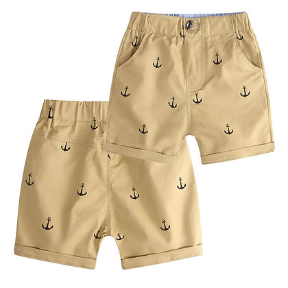 Cotton Printed Shorts for Boys