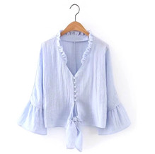 WO201116_100% Organic Cotton Top with Flared Sleeves.jpg