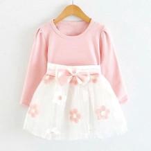 GI201038_Plain Pink Top and Applique Skirt Combo.jpg