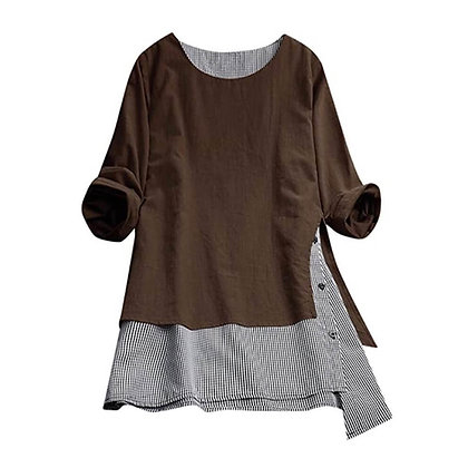 Layered Full Sleeve Tunic