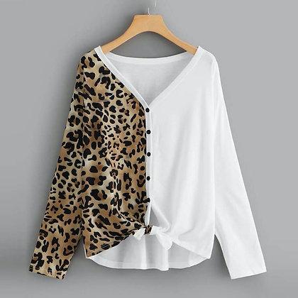 Half and Half Full Sleeve Shirt