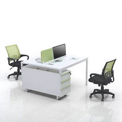 Slimline workstations and benching systems