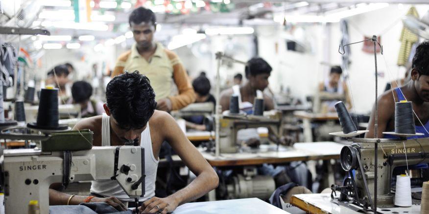 Garment factories in India shut down