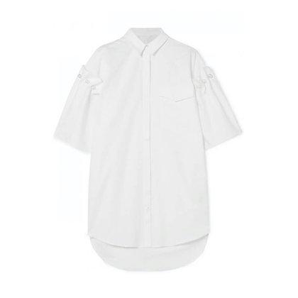 100% Organic Cotton Half Sleeve Long Shirt Tunic