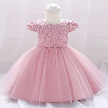 Girls Party Dress with Starfish