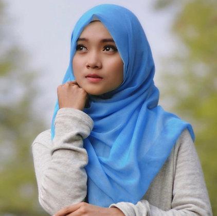 Hijaab in beautiful blue colour