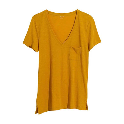 Long T-Shirt with Square pocket