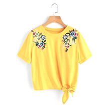 WO201016_Yellow Embroidered Cotton Top with Tie-Knot at Waist.jpg