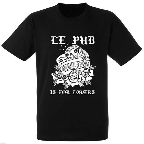 Le Pub Is For Lovers Sloth Tee