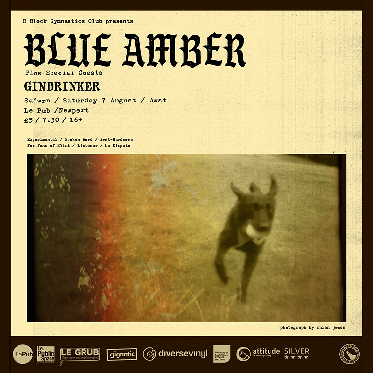 Blue Amber with support from Gindrinker