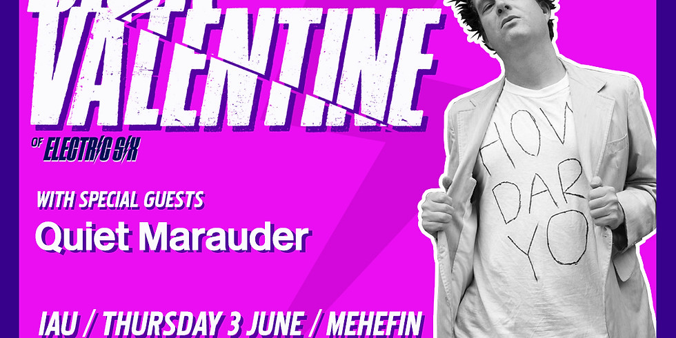 Dick Valentine (from Electric Six) / Quiet Marauder