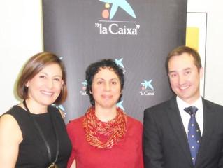 Firma convenio con Fundación La Caixa