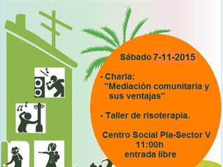 Charla/taller Mediación Comunitaria