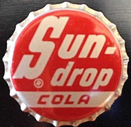1960's Sun Drop Cola Bottle Cap Unused