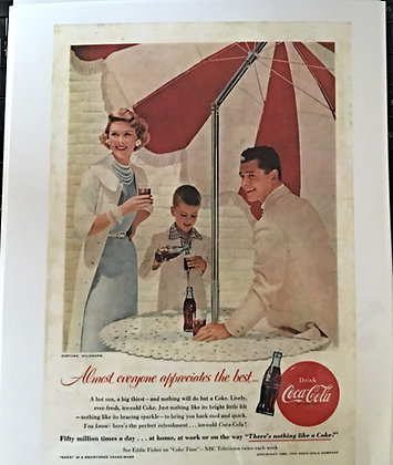 Coca Cola Ads for sale - www.nostalgia-tymes.com