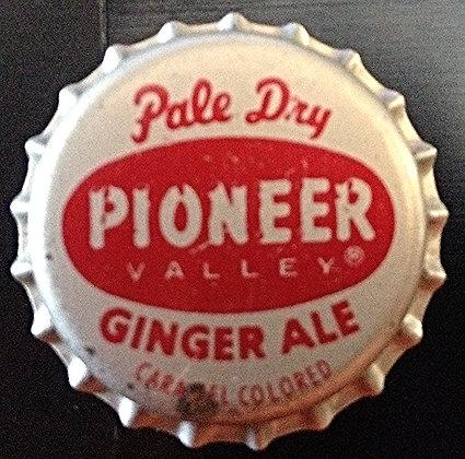 60's Pioneer Valley Ginger Ale Bottle Cap Unused