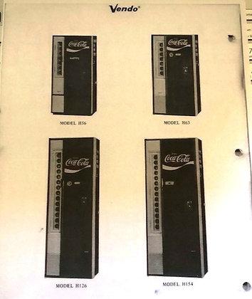 Vendo H56, H63, H90, H126, H154 Service Manual sent in PDF