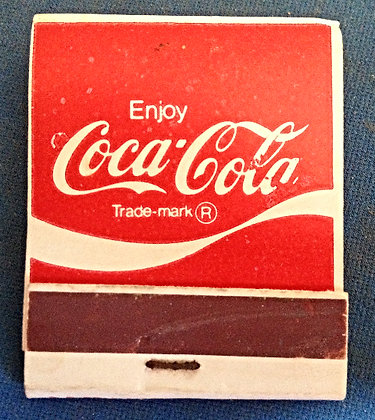 1960 Coca Cola Matches (Full Book)