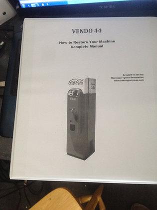 VMC 44 Service Manual sent in PDF format