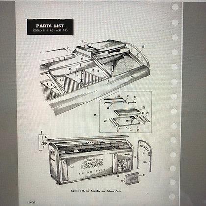 Victor C-18 C-31 & C-45 Service & Parts Manual  PDF