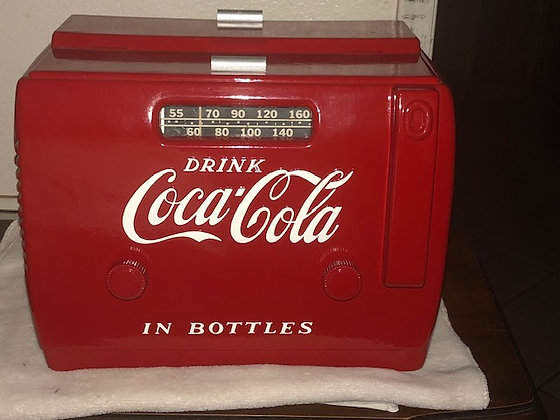 Coca Cola Radio 1948 Original, working, restored