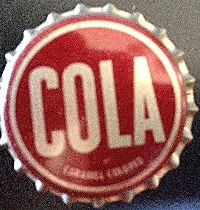 Cola Bottle Cap Cork Lined 1950's