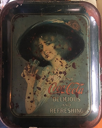 Coca Cola Serving Trays for sale.   www.nostalgia-tymes.com