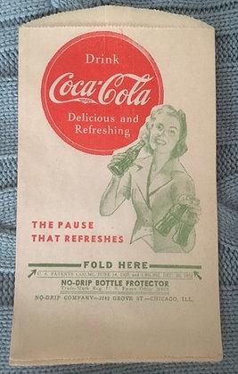 Coca Cola No Drip Holders for sale.  www.nostalgia-tymes.com