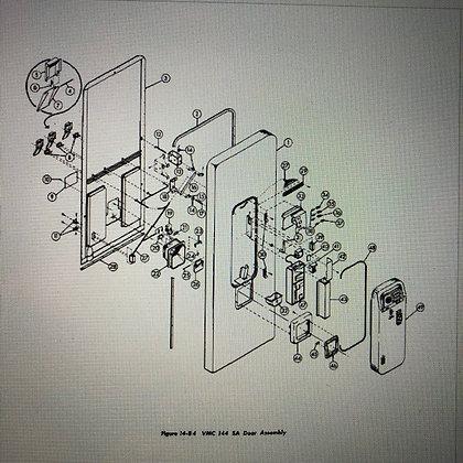 VMC 144SA Service & Parts Manual  sent in PDF