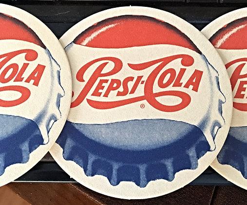 Pepsi Cola Coaster, Late 50's Perfect Condition