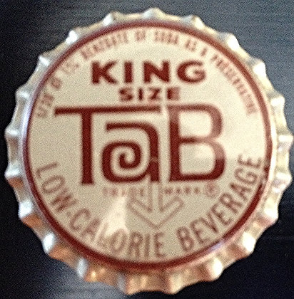 King Size Tab Bottle Cap (Cork) Unused