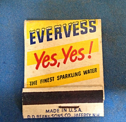 Late 40's Evervess Matches (Full Book)