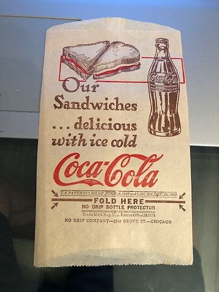 Our Sandwiches....delicious with ice cold Coca-Cola Var. 2