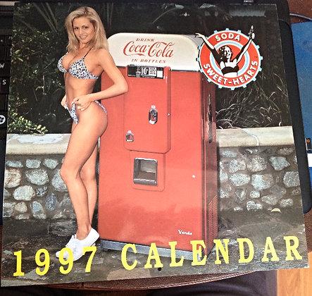 1997 Soda Sweet-Hearts Calendar Jeff Walters