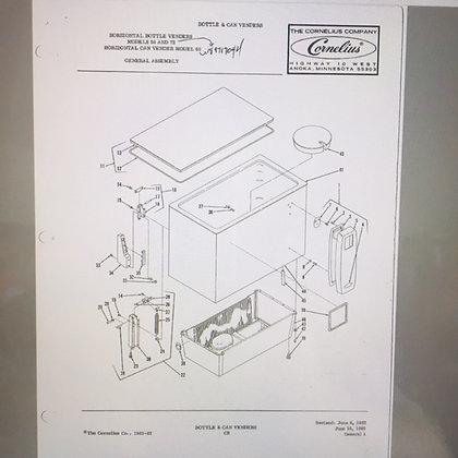 Cornelius 50 & 72 Slider Service Manual in PDF format