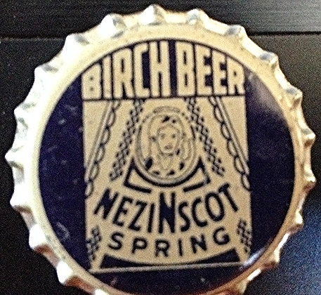 50's Birch Beer Unused Cork Lined Bottle Cap